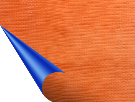 Dark blue – Orange Tarpaulin